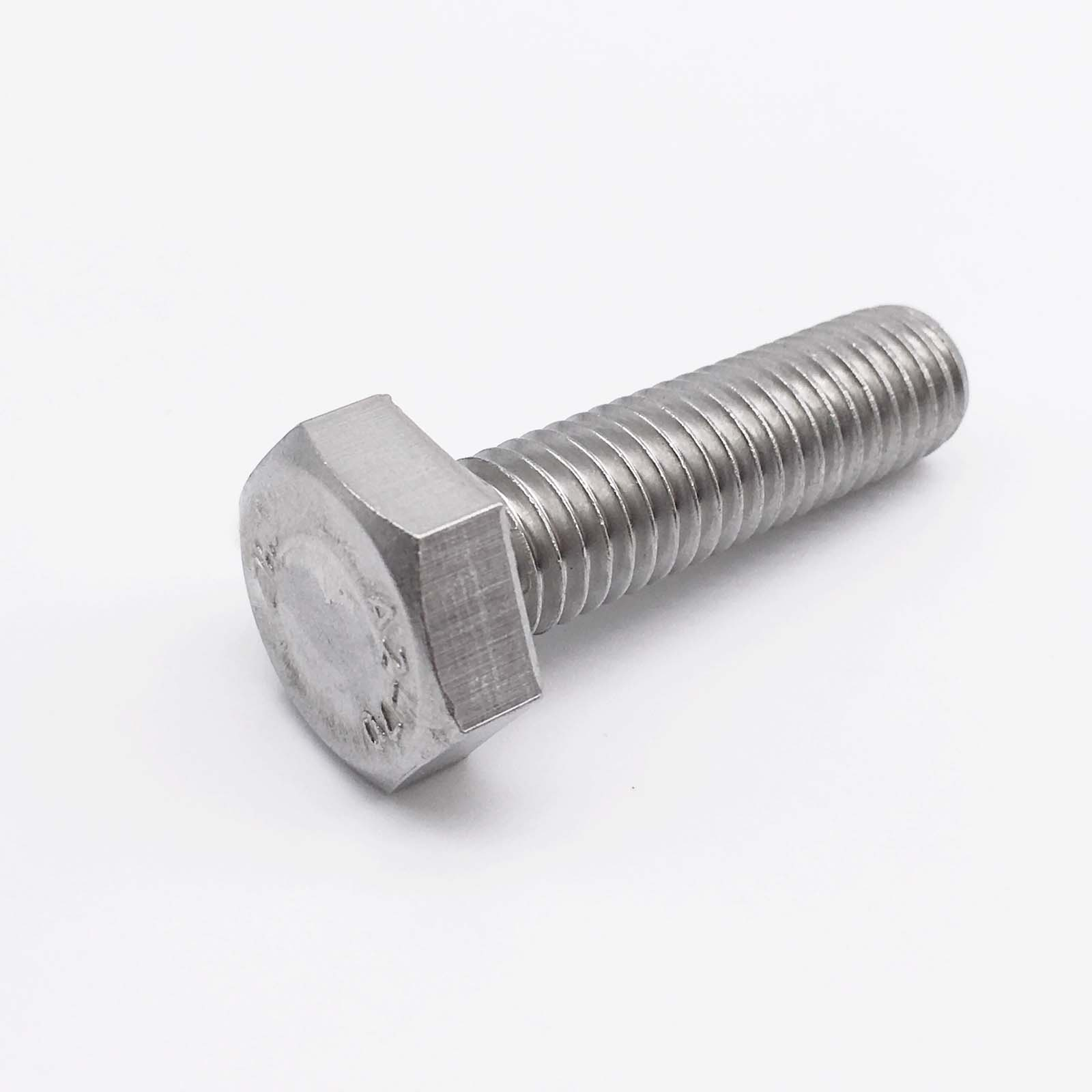 M6 * 85 Hexagon head bolts steel A2 SUS 304 stainless steel bolts 100 pieces<br><br>Aliexpress