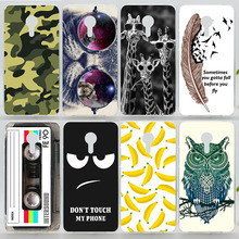 Case For Meizu MX4 Colorful Printing Drawing Phone Cover for Meizu MX 4 Fashion Plastic Phone Cases