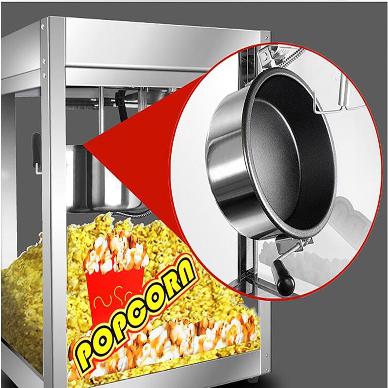 Free ship DHL  High quality non-stick pan Popcorn Machine Popcorn Maker Commercial Popcorn Machine corn-popping pop corn maker