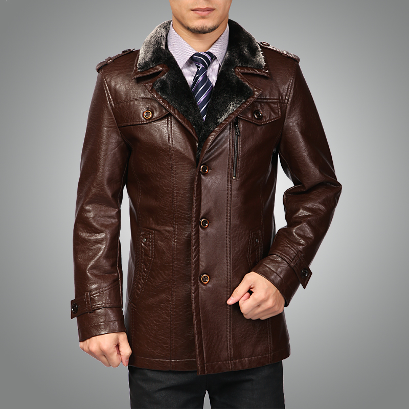 Mens Fur Coats For Free Shipping Menu0026#39;S Brand Luxury Fur Sheep Leather Coat Very Warm In Suit ...
