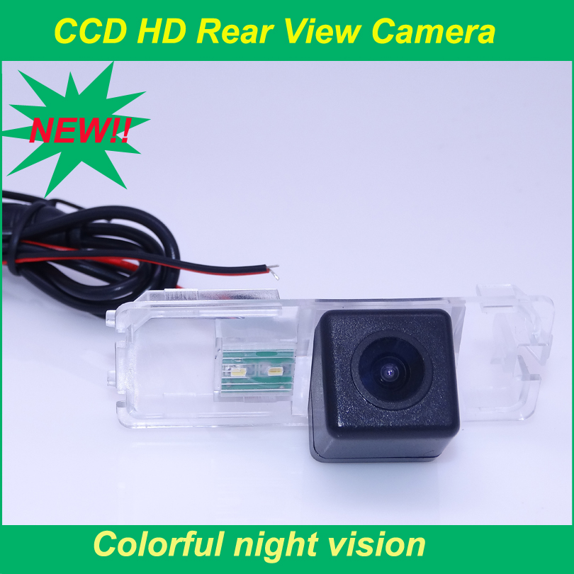 Colorful night vision car back up reversing camera waterproof IP 69K plastic shell for VW MAGOTAN / POLO Hatchback(China (Mainland))