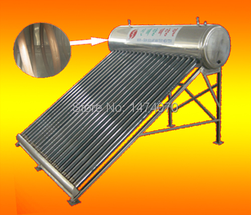 copper coil pipe direct pressurized solar water heater (470-58-1800-24/240L)(China (Mainland))