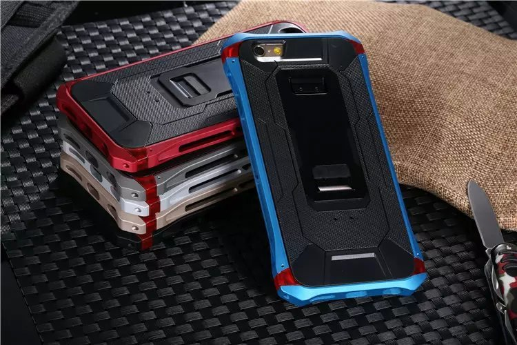 Outdoor high quality SECTOR Shockproof Aluminum metal Element Bumper protective Case For iPhone 6 4.7 6 Plus 5.5inch Phone Cases(China (Mainland))