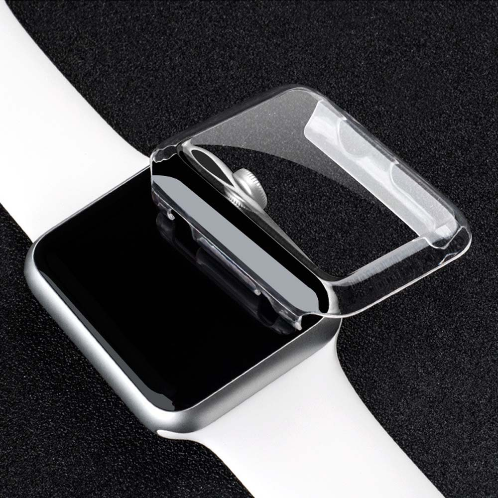 38mm/42mm Luxury Crystal Ultra Thin Hard PC Plastic Transparent Clear Transparent Case Cover for Apple Watch Series 1 Series 2(China (Mainland))
