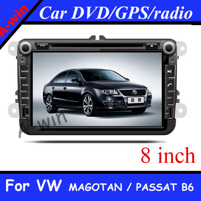 6.2' Car DVD Player with IPOD GPS TV Bluetooth for MAGOTAN / PASSAT B6 / MAGOTAN V6  PASSAT  Analog TV module USB/SD player