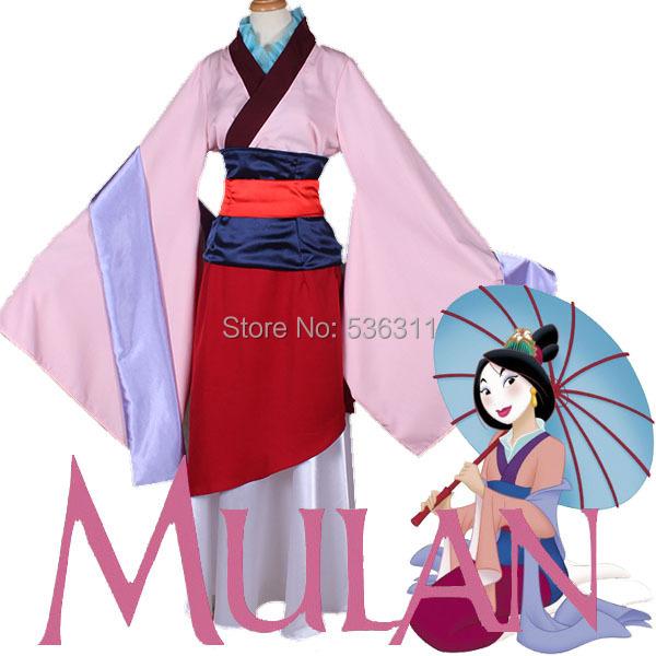 2014 halloween costumes for women Custom made Lady General Hua Mu-Lan Princess Dress Cosplay Costume Halloween Party Adult WomenОдежда и ак�е��уары<br><br><br>Aliexpress