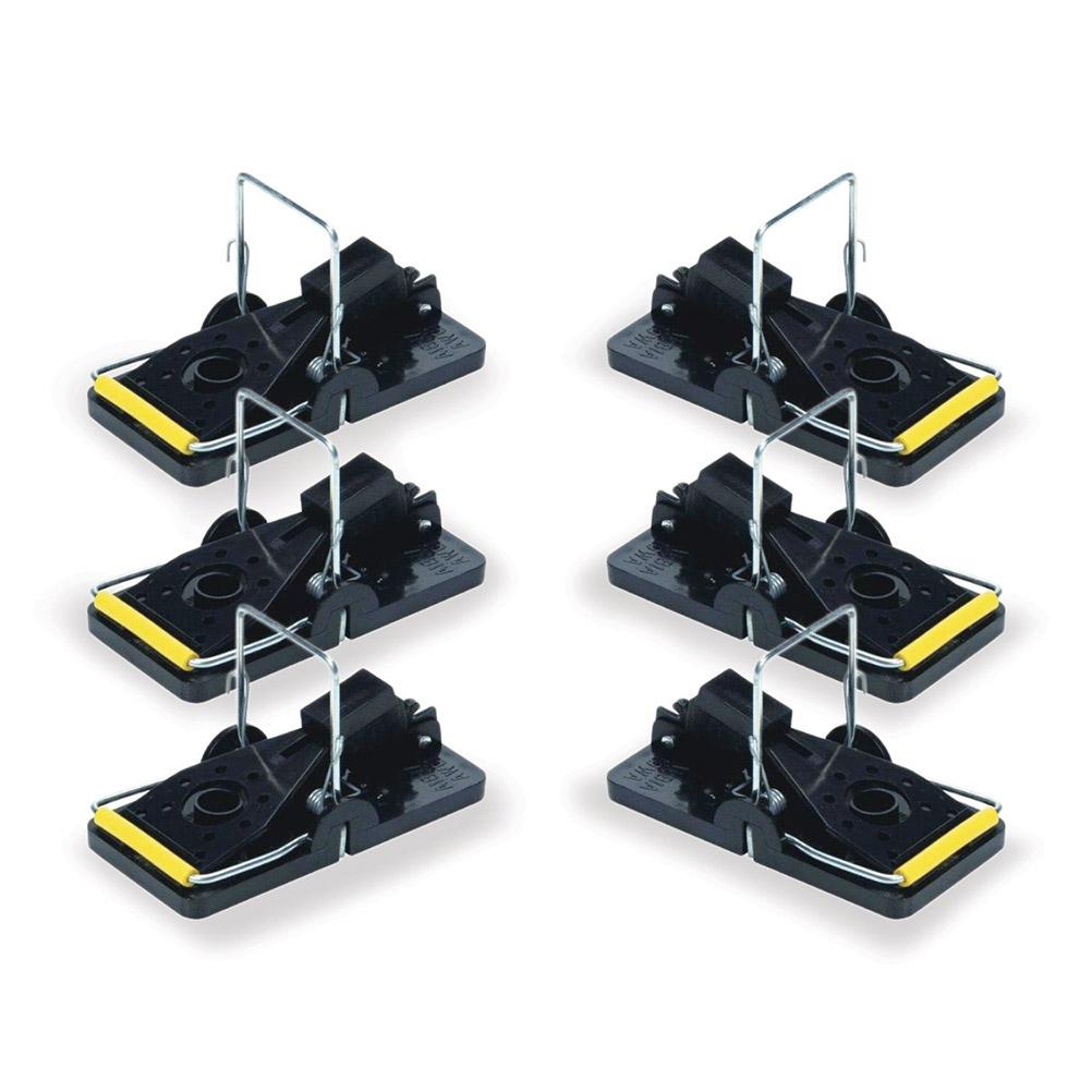 6pcs Portable Rat Traps Mouse Traps Plastic Pedal Mousetraps Easy Pest Catching Catchers(China (Mainland))