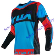 Free shipping 2016 180 Mako FHF Blue Red Jersey MX Motocross Sport Off Road Dirt Bike Motocross Bicycle Motorcycle(China (Mainland))
