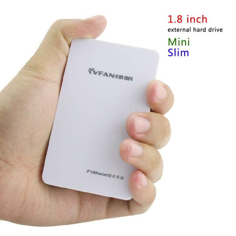 Good price Free Shipping Mini HDD 1.8'' USB2.0 120GB Slim External Hard Drive Desktop and Laptop Portable Disk Plug and Play(China (Mainland))