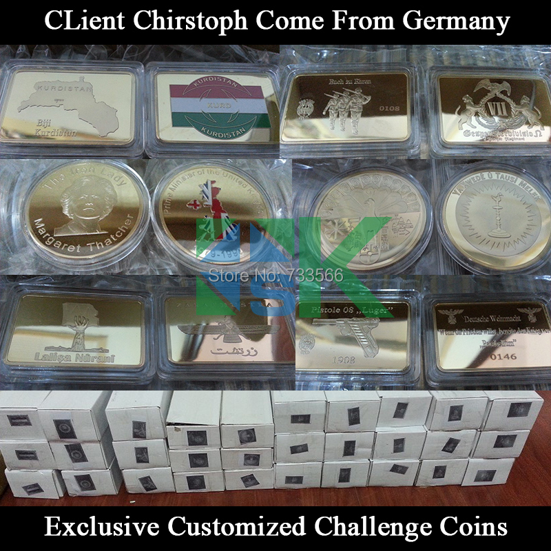 Customized Challenge Coins from Germany(China (Mainland))