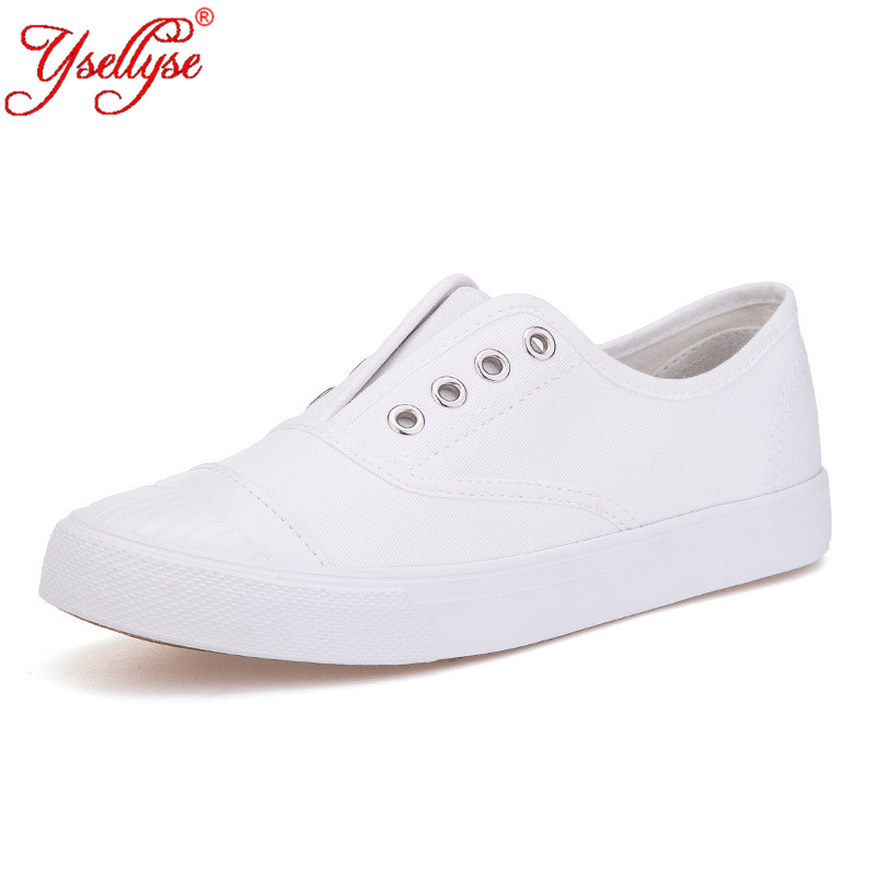 ysellyse new womens white shoe summer 2016 breathable