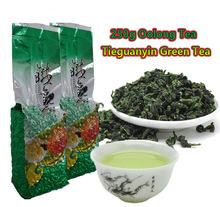 250g Chinese Anxi Tieguanyin tea, Fresh China Green Tikuanyin tea, Green Tea Natural Organic Health Oolong tea (China (Mainland))