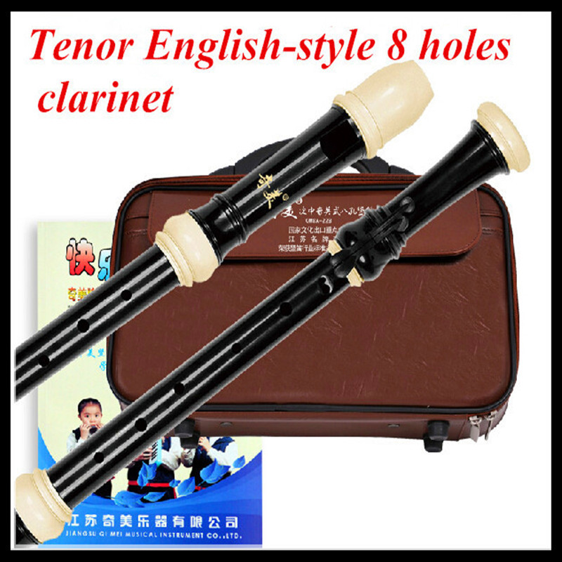 Tenor Clarinet  English-style 8 Holes C key Flute Dizi Istrumento Musical Flute Professional Flautas C Clarinet Tenor Clarinet<br><br>Aliexpress