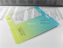 2pcs/lot Front+Back Fashion Tempered Glass For iphone5 5s 6 6splus Full Cover Screen Protector Color Protective Film