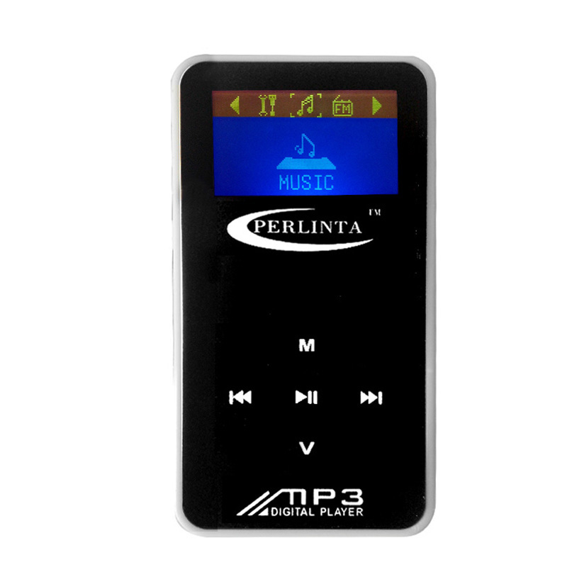 MINI TF Card MP3 Player With Screen Bundles With USB And Earphone Black (No Memory)(China (Mainland))