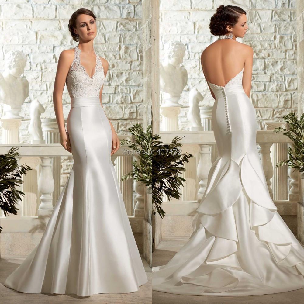 Halter neck mermaid style wedding dresses ivo hoogveld halter neck mermaid style wedding dresses ombrellifo Image collections