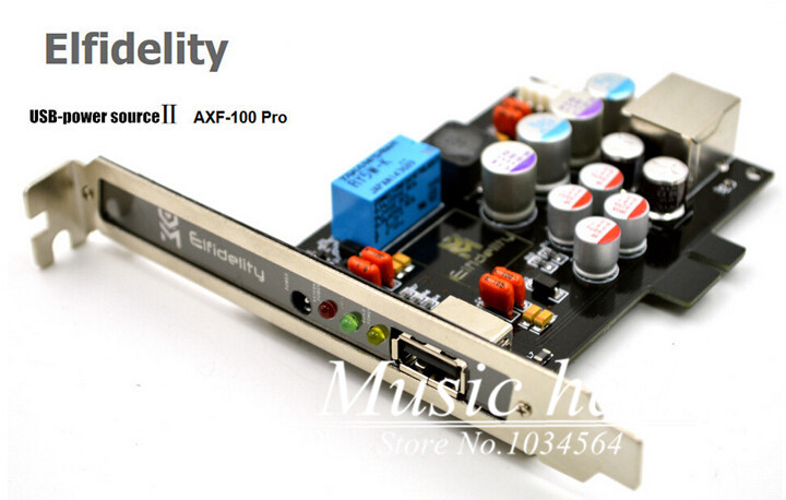 Music Hall Elfidelity USB Power Source PC-HiFi Internal USB Power Filter Audio upgrade DIY Free shipping(China (Mainland))