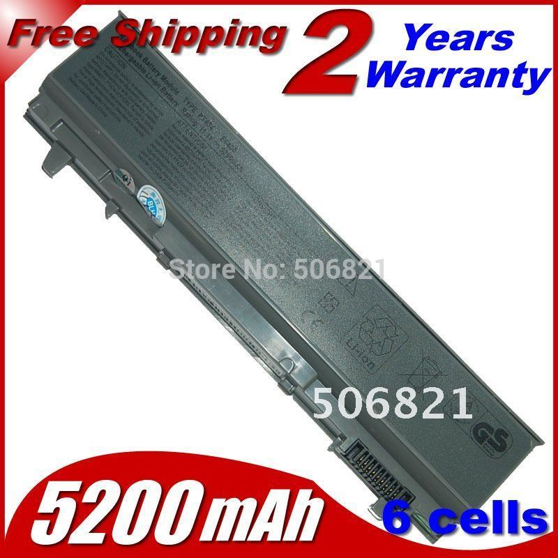 Replacement Laptop Battery For Dell Latitude E6400 Precision M2400 M4400 U844G PT434 NM631 KY477 KY265 C719R 451-10583 312-0917(China (Mainland))