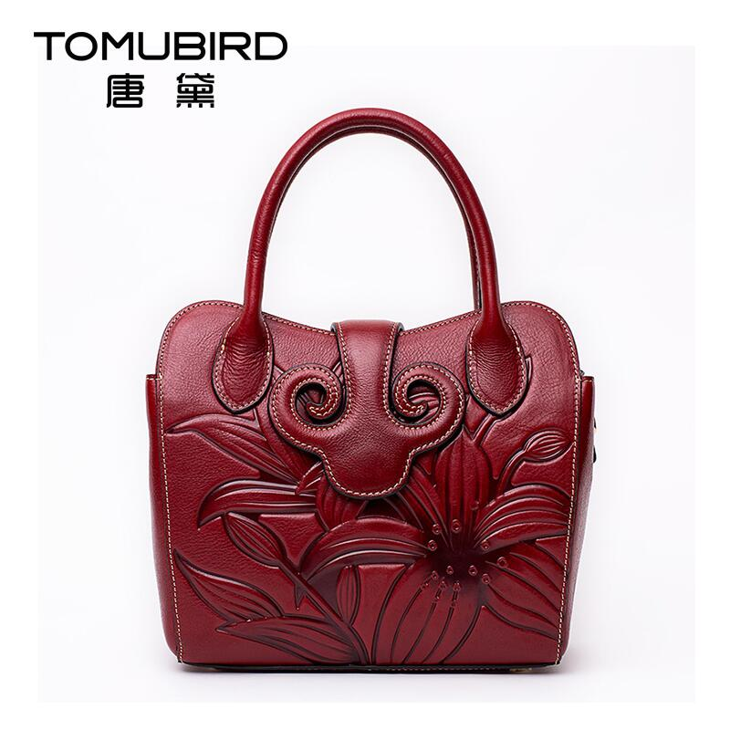 Famous brand top quality Cow Leather women bag Genuine national wind original hand bag and China Wind shoulder bag Pandora pack(China (Mainland))