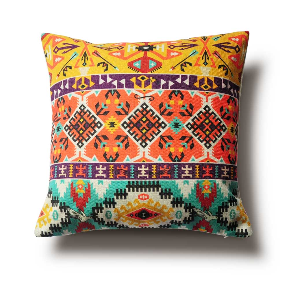 Decorative Pillow Wraps : Aliexpress.com : Buy Tribal Culture Cushion Pillow, Geometry Decorative Pillows,Decorative ...