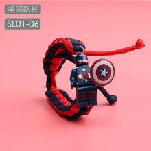 Toy story Lightyear Zumbidos Pulseira Figura Vingadores Marvel Super Herói Blocos de Construção Tijolos Brinquedos LegoING Bloco de Dragon Ball(China)