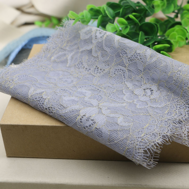 2yard New Style!16CM Wide, Eyelash Fringe Lace Trim Fabric,DIY Sewing Garment Accessories Quilting Mate rial Craft(China (Mainland))