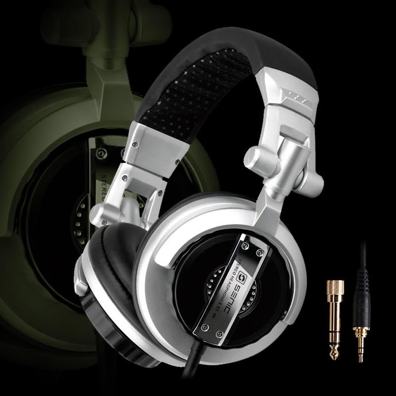 High Quality Somic ST-80 Professional Monitor Music Headsets DJ Headset Music Folding Stereo Earphones Hifi(China (Mainland))