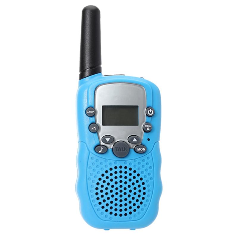 2pcs A Lot 0.5W UHF Auto Multi-Channels Mini Radios Walkie Talkie Blue Waterproof New Arrival High Quality(China (Mainland))