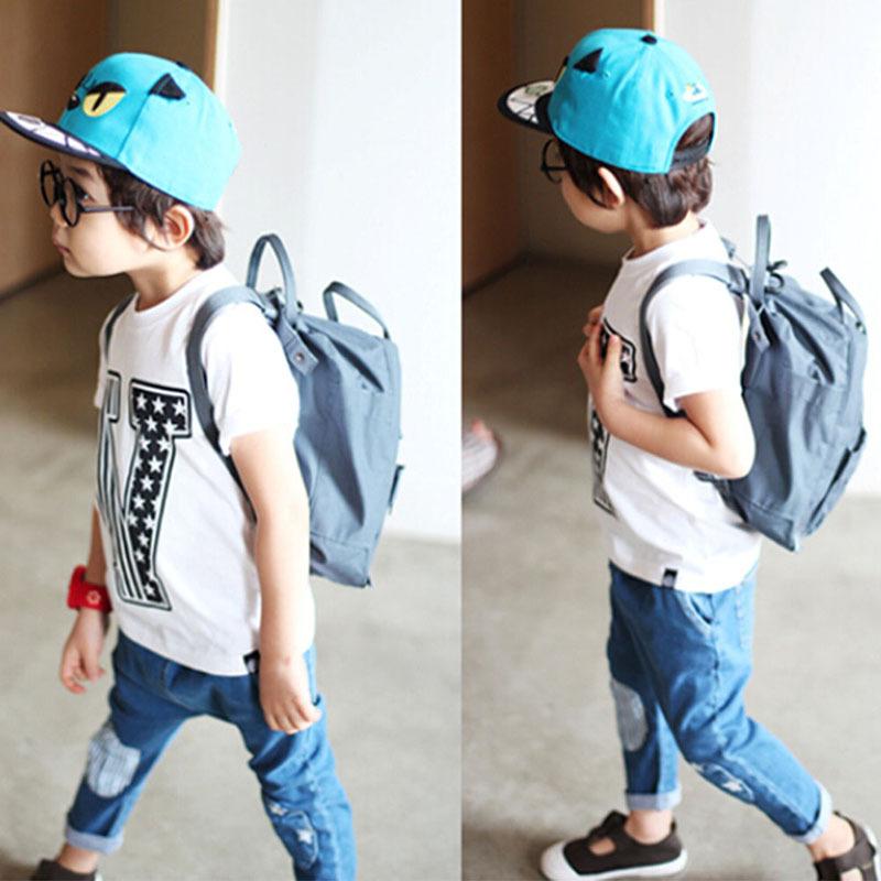 Stylish Kids Boy Summer Round Neck Short Sleeve Tee Shirt Tops Pullover T-shirt 2-7Y(China (Mainland))