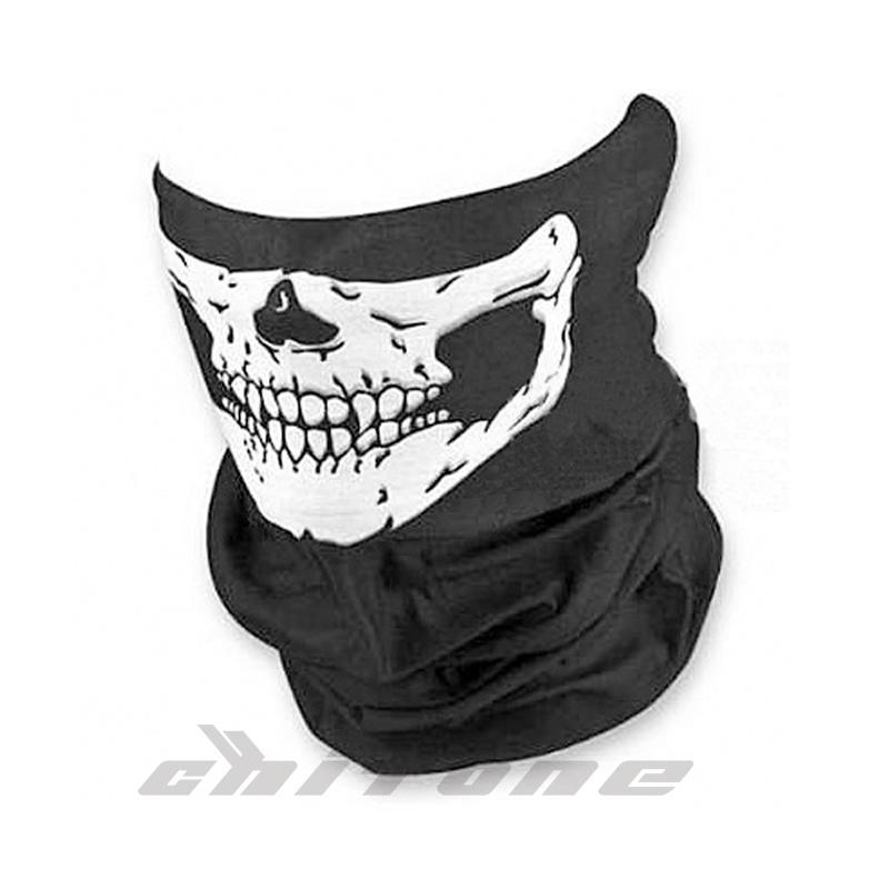 Motorcycle face mask ghost skull scarf mask windproof neck balaklava moto winter Multi functional Headwear Hat Scarf Cap