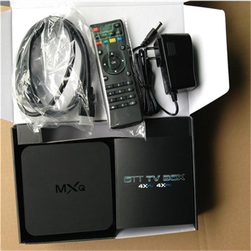 2PCS MXQ Android TV Box Quad Core Amlogic S805 1G RAM 8G ROM Smart TV Box KODI XBMC full loaded Airplay ADD-ONS Pre-install<br><br>Aliexpress