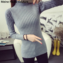 Sweaters 2016 New Fashion Autumn Knitted Turtleneck Sweater Women Winter Long Sweaters Top Women's Casual Crochet Clothing(China (Mainland))