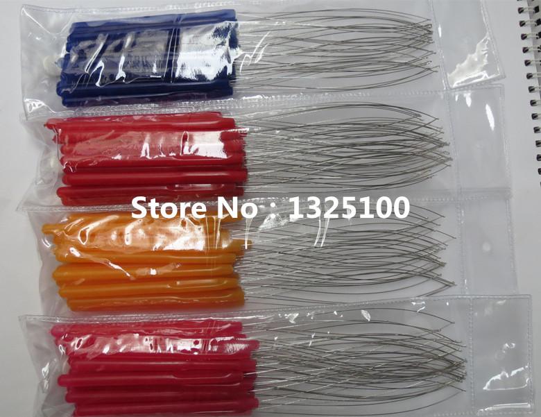20pcs/pack Plastics Handle Loop Pulling Needle/Micro Rings/Nano Rings/Loop Hook Needle Hair Extensions,Hair Extension Tools(China (Mainland))