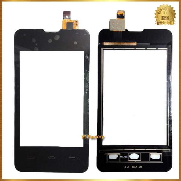 New Touch Screen display For Explay A351 SOLO Touch Panel Digitizer Replacement Assembly Front Glass Lens TP Black Free Shipping(China (Mainland))