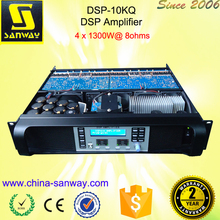 DSP-10KQ 2500W 2ohms Sound Digital Professional Powered Amplifier with DSP(China (Mainland))