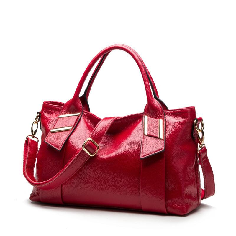New 2015 Women Leather Handbags Famous Brands Handbags Lichee Pattern Shoulder Bag Fashion Women Messenger Bags Female Tote