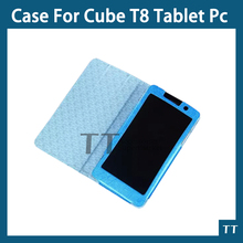 Case cover for cube T8 T8S T8 plus Newest 8″ Cube T8 4G  Phone Call Tablet Case+free screen protector+touch pen