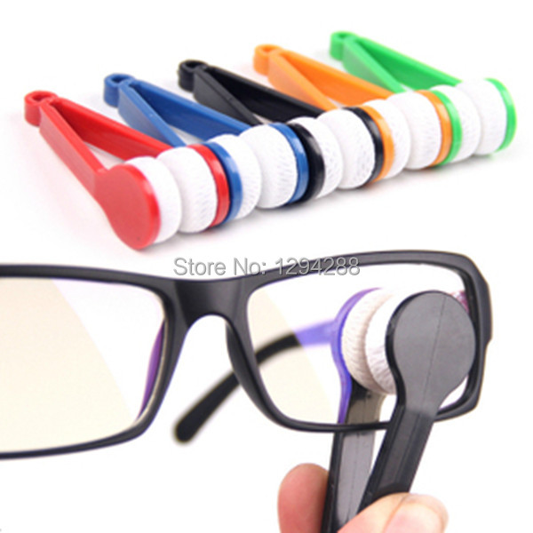 3pcs Essential Microfibre Glasses Cleaner Microfibre Spectacles Sunglasses Eyeglass Cleaner Clean Wipe Tools E4(China (Mainland))
