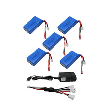Buy 2s 7.4V 1500mah 30C 5pcs lipo battery charger Quadcopters Helicopters RC Cars Boats High Rate batteria lipo car parts for $52.26 in AliExpress store