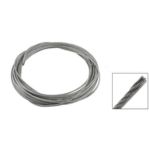Специальная продажа! 3 мм диаметр нержавеющей стали трос кабель 12 м длина