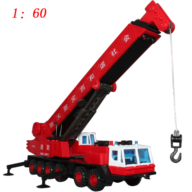 free shipping Exquisite big crane mainest alloy car models toy independent packing
