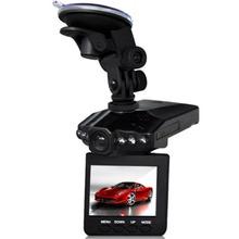 2 5 LCD Screen 6 LED Night Vision Vehicle Car Detector camera Recorder 120 Degree Wide
