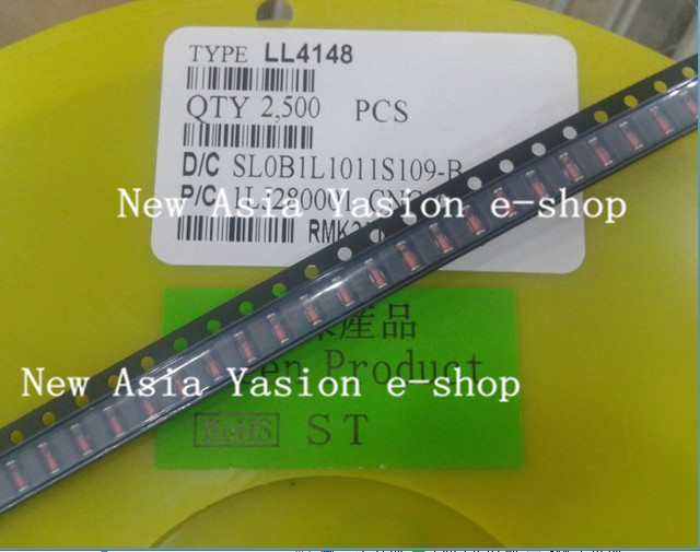 200pcs 1N4148 LL4148 LL34 1206 SMD SMT Diode Switching Signal