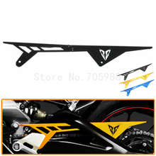 Buy New Motorcycle CNC Aluminum Black Chain Guards Cover Protector Yamaha MT09 FZ09 MT-09 FZ-09 2013 2014 2015 2016 for $49.98 in AliExpress store