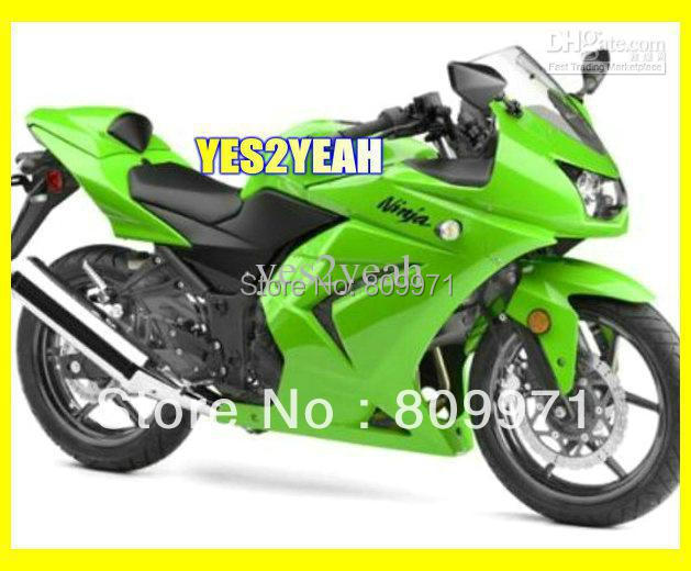 K584 Whole Green Fairing for KAWASAKI Ninja ZX250R 08-11 ZX 250R 2008-2011 ZX-250R EX250 08 09 10 11(China (Mainland))