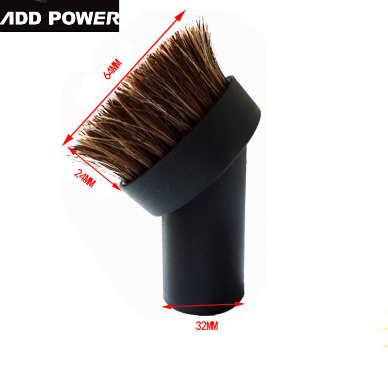 32mm Round Vacuum Cleaner Accessories Horse Brush Head For Philips Electrolux Haier Midea Sanyo Vacuum(China (Mainland))