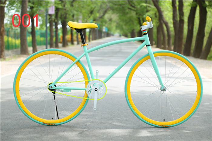 12Colors MTB Mountain Bicycle Aluminium Rim Steel Frame Alloy Road Bicycle Fixed Gear Bike 26Inch Wheel(China (Mainland))