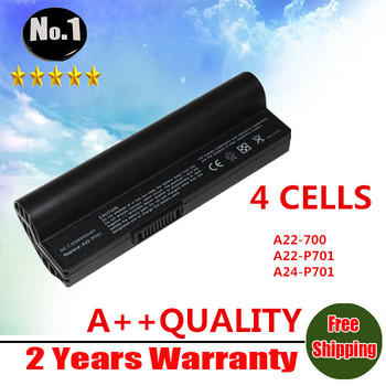 Wholesale  Replacement battery for  Eee PC 2G Surf Eee PC 4G Eee PC 4G Surf Series A22-P701 A22-700 A24-P701 4 cells