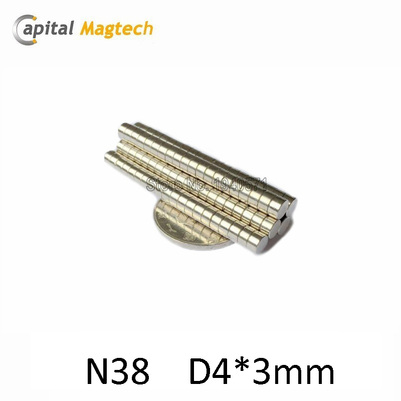 200pcs Disc 3/16*1/8 inch N52 High Quality Rare earth Neodymium Magnet  with free shipping<br><br>Aliexpress