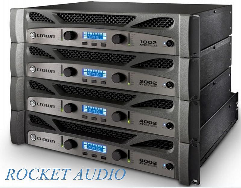 NEW!!! CROWN XTi 2002 2-Channel Rack Mount Power Amplifier XTI-2002(China (Mainland))